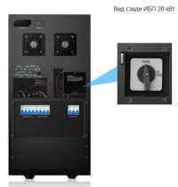 ИБП DELTA HPH-Series 20 kVA 3-3, UPS HPH 20KVA I/O=230/400V, 3 phase in ,3 phase out , without battery (GES203HH330035)