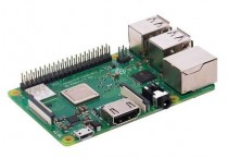 Микрокомпьютер RASPBERRY PI 3 Model B+ (RA433, E14 Version) Retail, 1GB RAM, Cortex-A53 (ARMv8) 64-bit SoC @ 1.4GHz Broadcom BCM2837B0 CPU, WiFi, Bluetooth, 40-pin extended GPIO, 4x USB 2.0, HDMI, CSI camera port, DSI displ.port, MicroSD port (137-3331) , (БП и корпус (Raspberry Pi 3 Model B+)