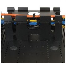 Кабельный органайзер TRIPPLITE SmartRack Roof-Mounted Cable Trough Vertical Expansion Plates - Requires SRCABLETRAY (SRCABLETRAYEXP)