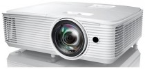 Проектор OPTOMA W308STe Full 3D; DLP, WXGA (1280*800), 3600 ANSI Lm, 22 000:1, Короткофокусный TR 0.521:1; HDMI 1.4a x1; VGA (YPbPr/RGB) x1;Composite x1; AudioIN x1; VGA Out; Audio Out;USB-A power 1A;RS232;10W x1; 26dB; 3.0 кг. белый [] (E1P1A28WE1Z1)