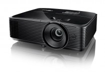 Проектор OPTOMA S334e DLP, 3D Ready, SVGA (800*600), 3800 ANSI Lm, 22000:1; 10000ч / 8000ч/5000 (Education /Eco/bright);+/- 40 vertical; HDMI x1; VGA IN x1; Audio IN x1; Composite x1; Audio OUT x1; USB-A (power 1A); 10W; 27 dB; 3 kg черный (E1P1A1VBE1Z1)
