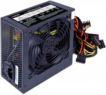 Блок питания HIPER ATX 2.31, 450W, Passive PFC, 120mm fan, power cord, черный OEM (HPT-450)