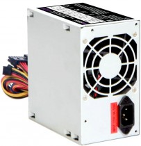 Блок питания HIPER ATX 2.31, 400W, Passive PFC, 80mm fan, power cord OEM (HPT-400)