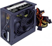 Блок питания HIPER ATX 2.31, 450W, Active PFC, >80 efficiency, 120mm fan, черный BOX (HPA-450)