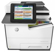 МФУ HP PageWide Enterprise Color Flow MPF 586z (p/c/s/f,A4,600dpi,50 (up to 75)ppm,Duplex,2trays 50+500,ADF100,2 Gb, HDD,enhanced Scanner, keyboard, USB2.0/GigEth/2 ext. USB,1y war, B5L06A) (G1W41A)