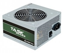 Блок питания CHIEFTEC Task (ATX 2.3, 400W, 80 PLUS BRONZE, Active PFC, 120mm fan) OEM (TPS-400S-Bulk)
