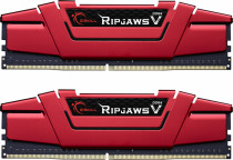 Память G.SKILL DDR4 RIPJAWS V 16GB (2x8GB kit) 3466MHz CL16 1.35V Blazing Red (F4-3466C16D-16GVR)