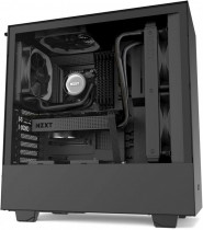 Корпус NZXT H510 Compact Mid Tower Black/Black Chassis with 2x120mm Aer F Case Fans (CA-H510B-B1)