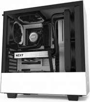 Корпус NZXT H510 Compact Mid Tower White/Black Chassis with 2x120mm Aer F Case Fans (CA-H510B-W1)