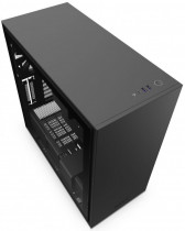 Корпус NZXT H710 Mid Tower Black/Black Chassis with 3x120, 1x140mm Aer F Case Fans (CA-H710B-B1)