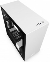 Корпус NZXT H710 Mid Tower White/Black Chassis with 3x120, 1x140mm Aer F Case Fans (CA-H710B-W1)
