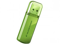 Флеш диск SILICON POWER 16GB USB2.0 Flash Drive SP Helios 101 металл салатовый (SP016GBUF2101V1N)