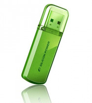 Флеш диск SILICON POWER 32Gb 101 Green Retail (SP032GBUF2101V1N)