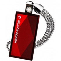 Флеш диск SILICON POWER USB 2.0 USB Drive 8Gb, Touch 810 , Red (SP008GBUF2810V1R)