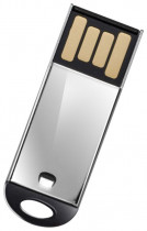 Флеш диск SILICON POWER USB 2.0 USB Drive 8Gb, Touch 830 нерж. сталь (SP008GBUF2830V1S)