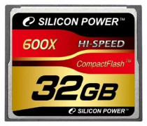 Карта памяти SILICON POWER Compact Flash 32Гб Super Speed 600x (SP032GBCFC600V10)