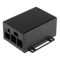 Корпус RASPBERRY PI 3 Case for 3 Model B and Pi PoE Switch HAT, разм.90x85х45mm, цвет черный (Raspberry Pi PoE Case 124-9372)