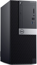 Компьютер DELL Optiplex 5070 MT i7 9700 (3)/8Gb/SSD256Gb/UHDG 630/DVDRW/Windows 10 Professional/GbitEth/260W/клавиатура/мышь/черный (5070-4784)
