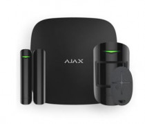 Комплект сигнализации AJAX StarterKit (Hub Plus, MotionProtect, DoorProtect, SpaceControl), чёрный (10021.00.BL2)