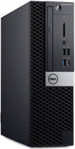 Компьютер DELL OptiPlex 5070 SFF i7-9700 (up to 4.8 MHz, 12M, 8C), 8GB (1x8GB) 2666MHz DDR4 UDIMM Non ECC, 256GB M.2 PCIe NVMe class 40 SSD, Intel UHD 630, mse/keyb, Audio, VGA, Win 10 Pro (64) ru, TPM, 3Y NBD (5070-4814)
