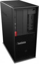Компьютер LENOVO ThinkStation P330 SFF i7 9700 (3)/16Gb/1Tb 7.2k/SSD256Gb/P620 2Gb/DVDRW/CR/Windows 10 Professional 64/GbitEth/260W/клавиатура/мышь/черный (30D10029RU)