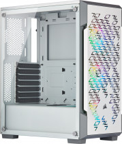 Корпус CORSAIR iCUE 220T RGB Airflow Tempered Glass Mid-Tower Smart Case — White (CC-9011174-WW)