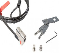 Замок DELL Security Lock: Kensington Clicksafe Keyed Lock (Kit) (461-10169)