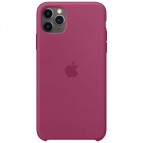 Чехол APPLE iPhone 11 Pro Silicone Case - Pomegranate (MXM62ZM/A)