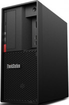 Компьютер LENOVO ThinkStation P330 MT Xeon E-2224g (3.5)/8Gb/SSD256Gb/UHDG P630/DVDRW/CR/Windows 10 Professional 64/GbitEth/400W/клавиатура/мышь/черный (30CY003URU)