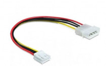Кабель ACD питания Molex-To-FDD Connector, Molex(Male, 4pin) - FDD (Female, 4pin), 20 cm (KY524)