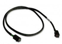 Кабель LSI CBL-SFF8643-06M ( / 05-26114-00) INT, SFF8643-SFF8643 (MiniSAS HD -to- MiniSAS HD internal cable), 60cm (LSI00403)