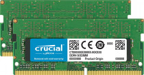 Память CRUCIAL SO-DIMM 8GB Kit 4GBx2 DDR4 2400 MT/s PC4-19200 CL17 SR x8 Unbuffered 260pin (CT2K4G4SFS824A)