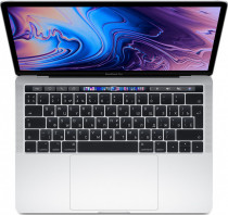 Ноутбук APPLE MacBook Pro Z0W6/12 Silver 13.3 Retina (2560x1600) Touch Bar i5 1.4GHz (TB 3.9GHz) quad-core 8th-gen/16GB/256GB SSD/Iris Plus Graphics 645 (2019) (Z0W6000E8)