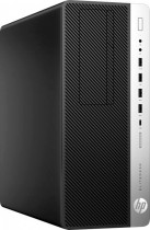 Компьютер HP EliteDesk 800 G5 TWR i5 9500 (3)/8Gb/SSD256Gb/UHDG 630/DVDRW/CR/Windows 10 Professional 64/GbitEth/клавиатура/мышь/черный (7PE88EA)