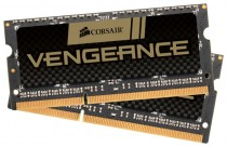 Память CORSAIR SO-DDR3 8192Mb 1600MHz RTL Unbuffered, 9-9-9-24, Black PCB, 1.5V, (CMSX8GX3M2A1600C9)