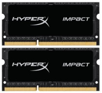 Память KINGSTON DRAM 8GB 2133MHz DDR3L CL11 SODIMM (Kit of 2) 1.35V HyperX Impact (HX321LS11IB2K2/8)