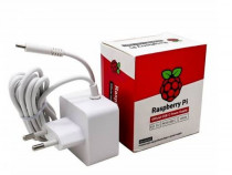 Блок питания RASPBERRY PI 4 Model B Official Power Supply Retail, White, 5.1V, 3A, Cable 1.5 m, USB Type С output jack, для 4 B (187-3421) (187-3413)