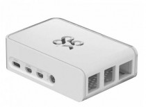 Корпус RASPBERRY PI 4 Model B Official Case Okdo Slide Series, White, BULK, для 4 Model B (ASM-1900138-11) (187-3430)