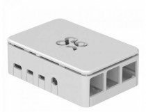 Корпус RASPBERRY PI 4 Model B Official Case Okdo Standard Series, White, BULK, для 4 Model B (ASM-1900133-11) (187-3431)