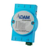 Коммутатор ADVANTECH 5FE Unmanaged Ethernet Switch, Flexible mounting (ADAM-6520-BE)
