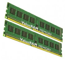 Память KINGSTON 8GB DDR3 1333 DIMM Height 30mm, Non-ECC, CL9, Kit (2x4GB), Retail (KVR13N9S8HK2/8)