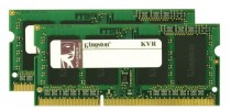 Память KINGSTON 8GB DDR3 1333 SO DIMM Non-ECC, CL9, Kit (2x4GB), Retail (KVR13S9S8K2/8)