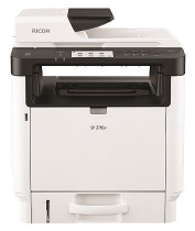 МФУ RICOH Лазерное SP 3710SF (А4, 32 стр/мин, копир/принтер/сканер/факс/дуплекс, автоподатчик, 256МБ, PCL, USB2.0, Ethernet, NFC, cтарт.картридж) (408267)
