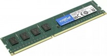 Память CRUCIAL RAM 4GB DDR3L 1600 MT/s (PC3L-12800) CL11 Unbuffered UDIMM 240pin 1.35V/1.5V (CT51264BD160B)
