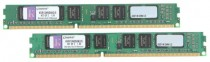 Память KINGSTON DDR3 8Gb (pc-10600) 1333MHz , Kit of 2 RTL (KVR13N9S8K2/8)