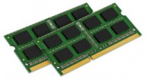 Память KINGSTON 16GB DDR3 1333 SO DIMM Non-ECC, CL9, Kit (2x8GB), Retail (KVR13S9K2/16)