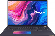 Ноутбук ASUS StudioBook Pro X W730G5T-H8093TS Intel Core™ i7-9750H/32Gb/1TB+1TB M.2 SSD (RAID 0)/ Quadro® RTX 5000 GDDR6 16GB/17.0 FHD WUXGA 1920x1200 16:10 AG/WiFi/BT/Windows 10 Home/2.5Kg/Gray & Metal/Scree (90NB0M32-M02380)
