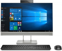 Моноблок HP Intel Core i5 9500, 3000 МГц, 16 Гб, без HDD, 512 Гб SSD, Intel UHD Graphics 630, DVD-RW, Wi-Fi, Bluetooth, Windows 10 Professional, 23.8