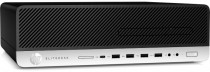 Компьютер HP EliteDesk 800 G5 SFF Core i5-9500 3.0GHz,8Gb DDR4-2666(1),Intel Optane 16Gb+1Tb 7200,DVDRW,USB Kbd+USB Mouse,VGA,3/3/3yw,Win10Pro (7QN12EA)