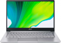 Ноутбук ACER Swift SF314-42 Ryzen 5 4500U 8Gb SSD 512Gb AMD Radeon Graphics 14 FHD IPS BT Cam 4343мАч No OS Серебристый SF314-42-R420 (NX.HSEER.00D)